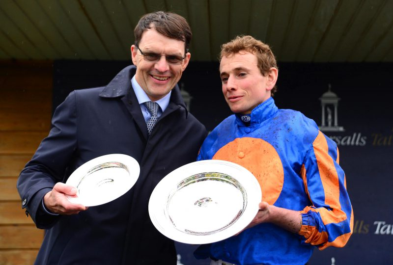 British Champions Day: Trainer Aidan O'Brien equals Group One wins record
