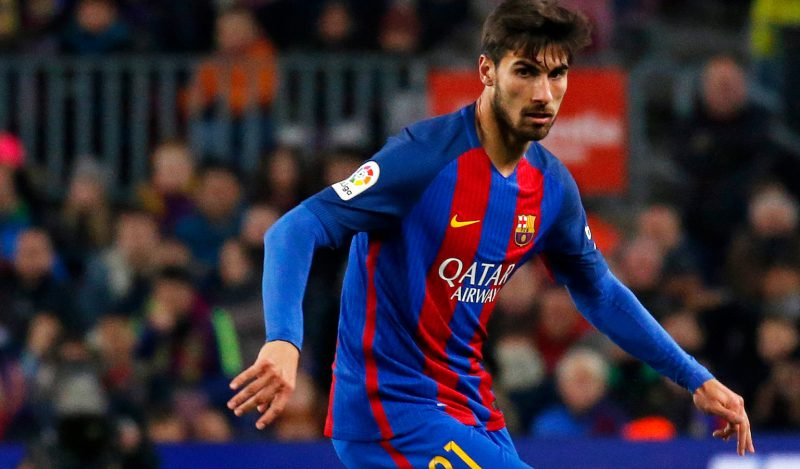 West Ham target Barcelona midfielder Andre Gomes
