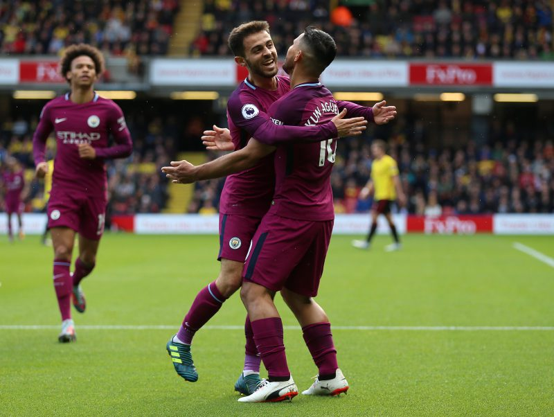 Guardiola Praises Man City, Aguero After Watford Rout