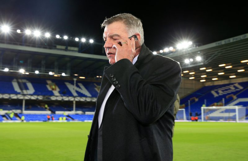Allardyce taking over as Everton boss