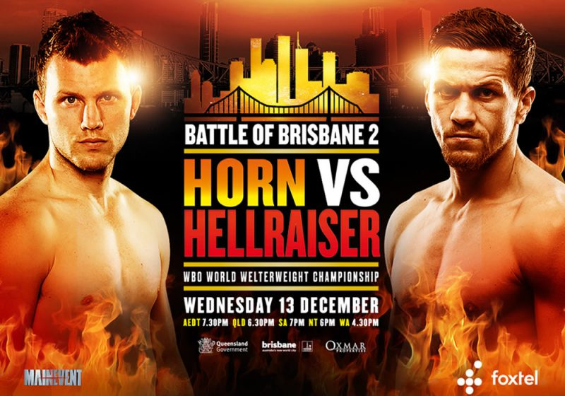 LIVE BLOG Jeff Horn vs Gary Corcoran
