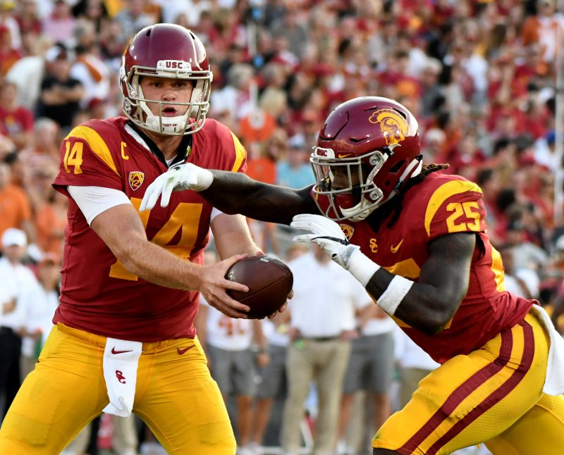 Sam Darnold's USC teammate is Jets' Day 2 possibility