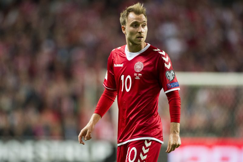 Christian Eriksen slams 'scared' Ireland
