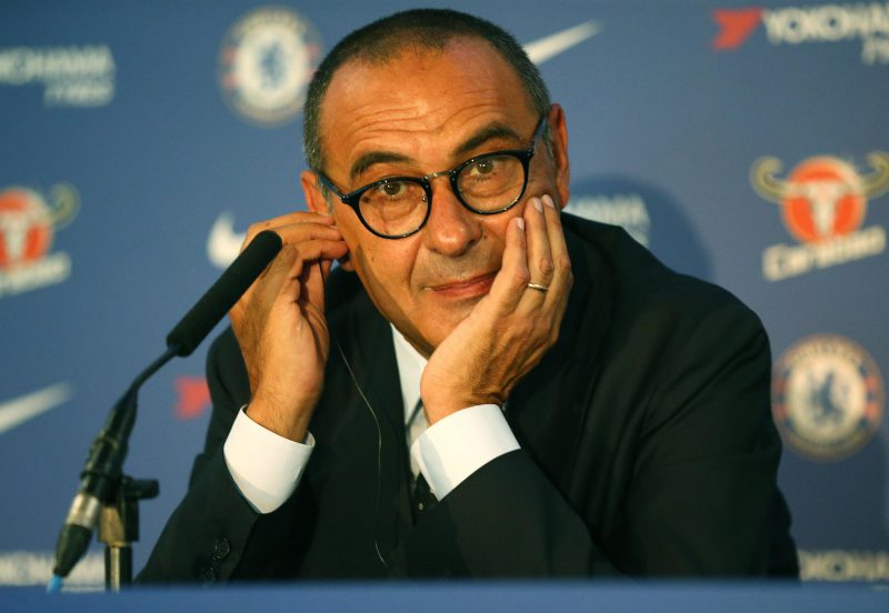 Maurizio Sarri odds slashed for Chelsea sack