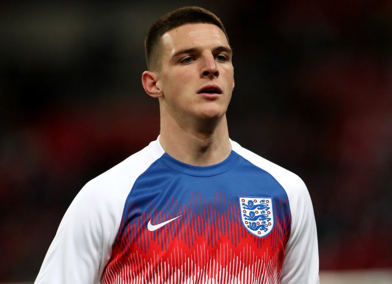 Declan Rice responds to Manchester United speculation