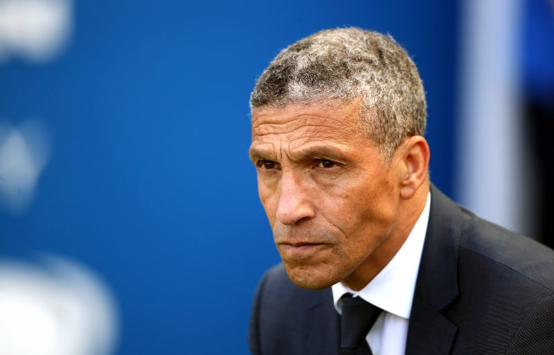 Brighton push forward with pursuit of Graham Potter as Chris Hughton's replacement