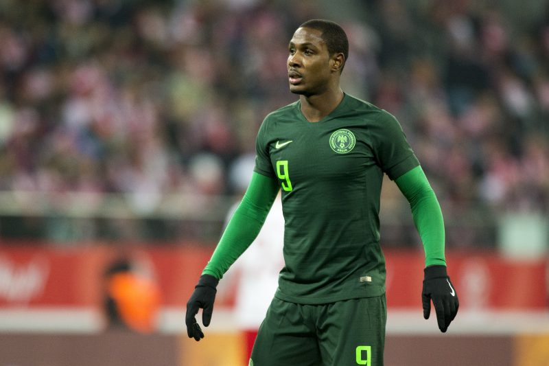 Ighalo needs one month to be ready for Man Utd - Sanchez Flores